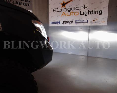 Philips Extrem Ultinon Led H4 6200k Bright White 2x philips h4 x treme ultinon hi lo 6200k led kit