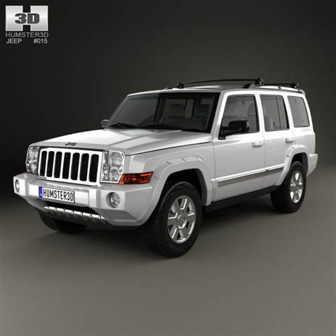 2006 2010 jeep commander xk auto car service repair manual jeep commander xk limited 2006 3d model hum3d