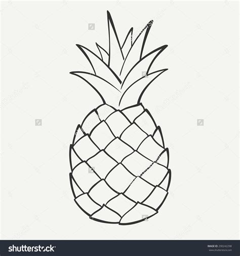 15 pineapple vector black images pineapple die cut vinyl