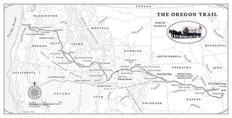 rails to trails oregon map oregon trail map