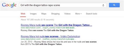the girl with the dragon tattoo rape scene the with the and the problem of the
