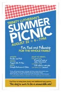 trinity summer picnic on behance