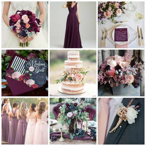 plum wedding colors blush plum wedding inspiration burgh brides