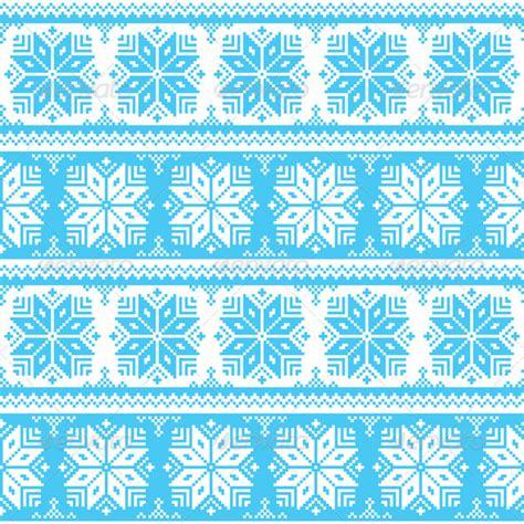 blue nordic pattern nordic seamless christmas blue pattern by redkoala