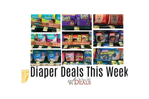 target diaper deals this week