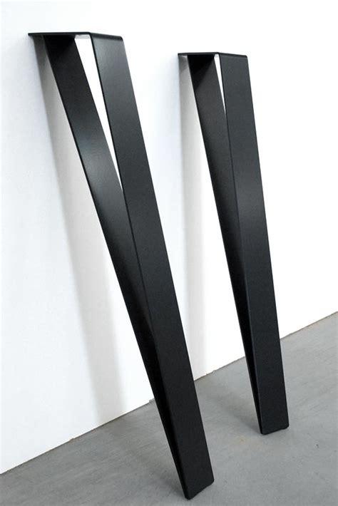 pieds de bureau design graf k fabricant de pieds de table et plateau en bois design