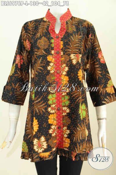 Sarimbit Batik Batik Atasan Batik Cewe 4 model baju batik atasan wanita pakaian batik lengan