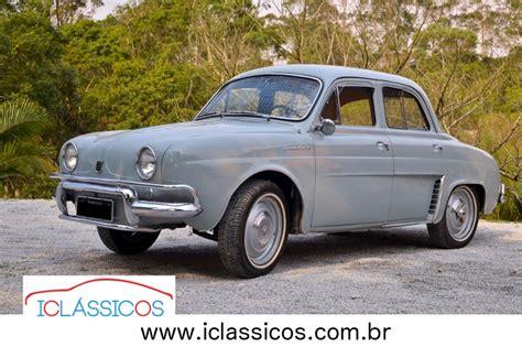1961 renault dauphine renault dauphine 1961 n gordini r 45 000 em mercado libre