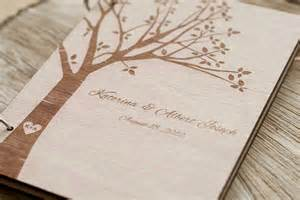 wedding guest book wood wedding guest book wedding guestbook modern custom