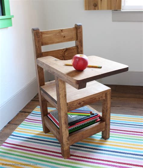 schoolhouse desk and chair that s my letter diy schoolhouse chair
