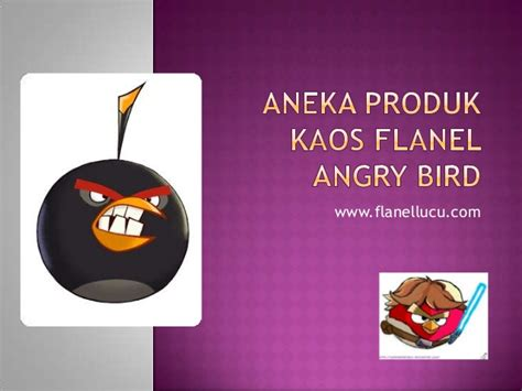 Kaos Ordinal Angry Bird 01 kaos flanel lucu angry birds
