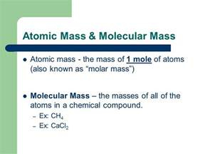 Mass Of A Proton In Grams Unit 6 Chapter 12 The Mole Ppt