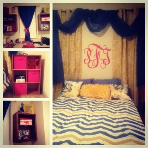 dorm room window curtains curtains and sheers above bed adds a cozy feeling and