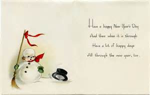 vintage snowman new year greeting card design shop