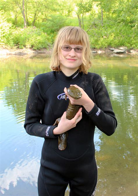 pa fish and boat commission internships michelle herman of bellefonte participates in summer