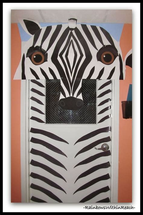 Classroom Decorating Ideas With Zebra Print 17 Best Ideas About Jungle Theme Decorations On