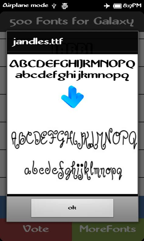 best fonts for android the 500 best fonts for galaxy android apps on