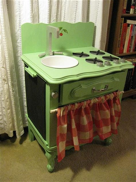 play kitchen from old furniture 10 diy play kitchen sets home with design