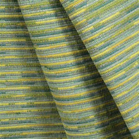 Blue Green Upholstery Fabric Sari Oasis Blue Green Stripe Upholstery Fabric By