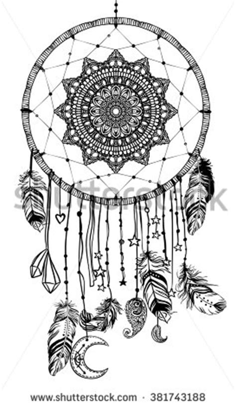 american inspired coloring book dreamcatcher 50 tribal mandalas patterns detailed designs books catcher stock photos images pictures