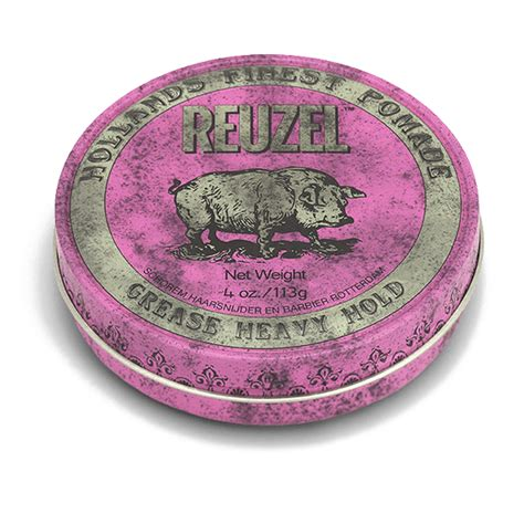 Pomade Reuzel Pink reuzel pink pomade heavy hold medium shine reuzel inc