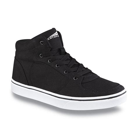 black high top basketball shoes catapult s rookie black high top basketball shoe