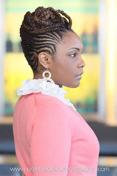roded black hair style 5 creative natural braided hairstyles for black women