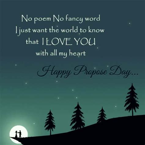 propose day image   message quote  whatsapp