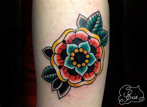 tattoo flowers traditional pix for gt traditional flower tattoo mandala tattoos