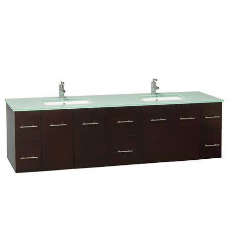 80 double sink bathroom vanity 80 quot zentra double sink vanity espresso bathgems com