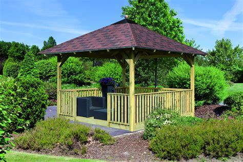 pavillon holz 3x4m anvitar gartenmobel polyrattan pavillons
