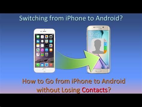 how to transfer contacts from iphone 3gs 4 4s 5 5s to android