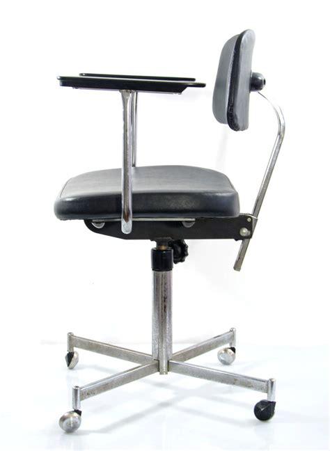fifties vintage design adjustable desk chair
