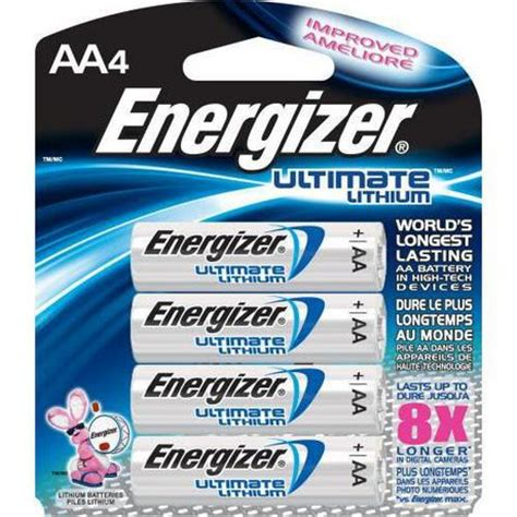Energizer Advanced Aa energizer ultimate lithium aa batteries walmart canada
