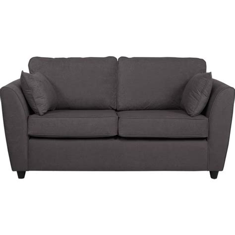 argos clearance sofas buy home eleanor large fabric sofa charcoal at argos co