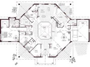 gallery for gt luxury house plans with indoor pool