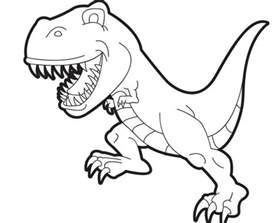 printable rex coloring pages 91060