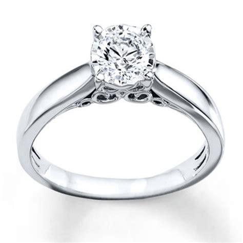 imagenes de anillos en oro blanco anillo de compromiso oro blanco de 10 quilates de