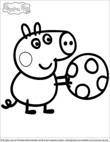 peppa pig coloring page peppa pig coloring pages coloring home
