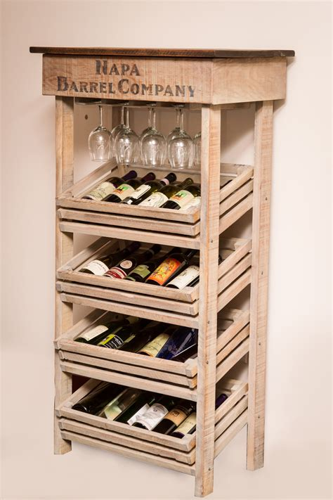 Shoe Home Decor by Napa Vineyard Crate Wine Rack And Cabinet