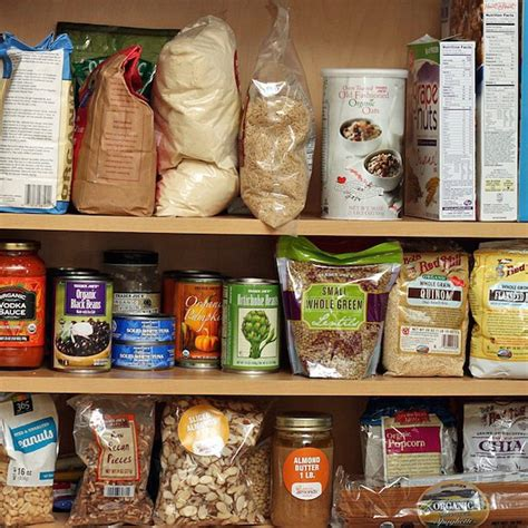Healthy Pantry by Clean Your Pantry What To Toss What To Keep