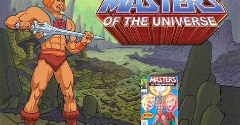 Helm Gl Series the box masters of the universe comics