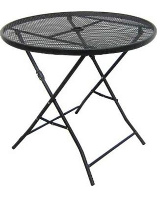 Check Out These Summer Savings Patio Folding Table Metal Mesh Patio Table
