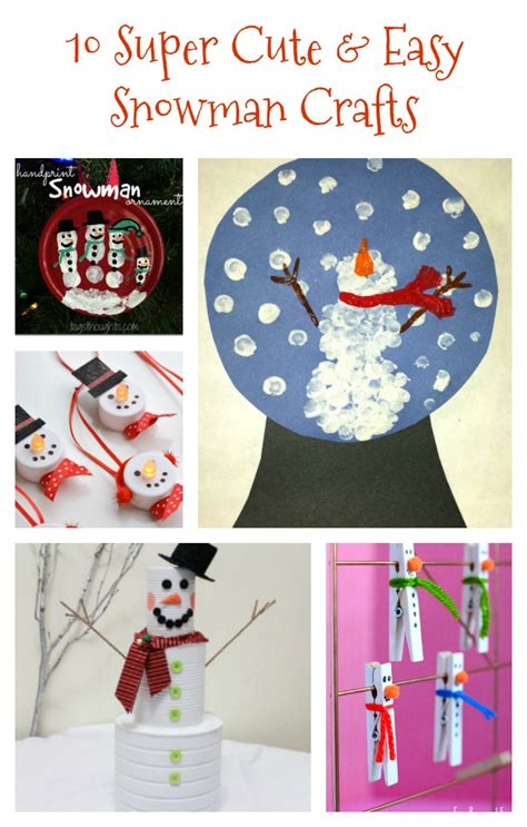 easy winter crafts 10 and easy snowman crafts re fabbed