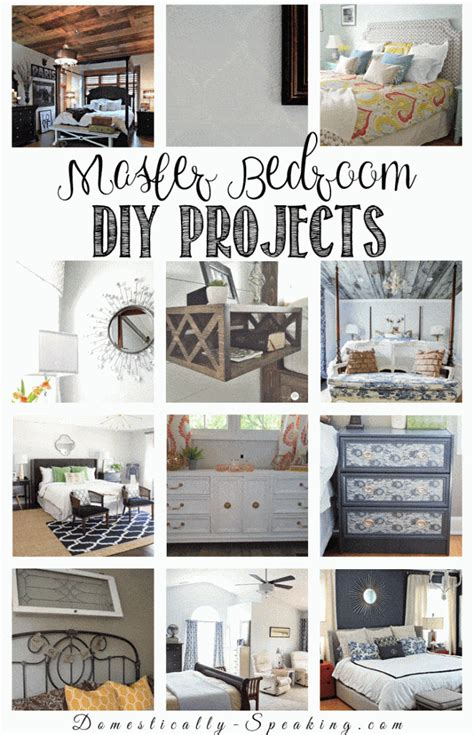 diy projects for room decor diy room decor ideas for the master bedroom domestically speaking