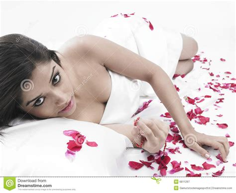 what are chinese women like in bed asian woman in bed with petals royalty free stock