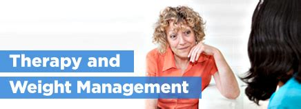 weight management therapy therapy and weight management