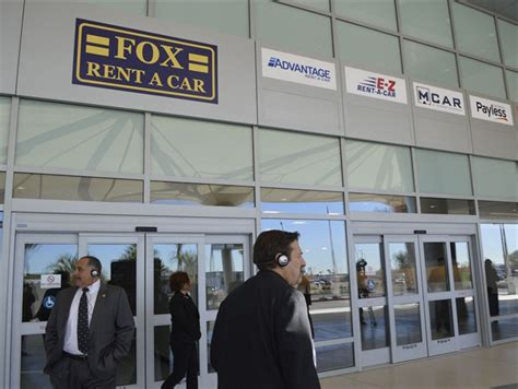 fox relocates  san diego airports rental center