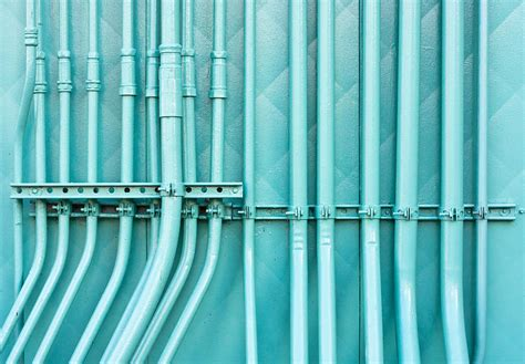 Blue Plumbing Pipe by Blue Pipes By Tom Gowanlock Royalty Free And Rights