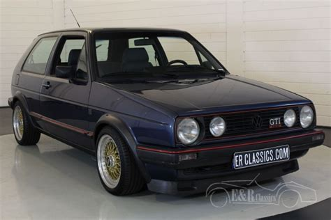 volkswagen golf 1987 volkswagen golf mk2 gti 16v 1987 te koop bij erclassics